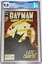 Batman Adventures #17 CGC 9.0 DC Comics 2004 Final Issue