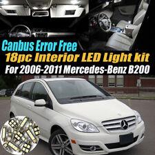 18Pc 2006-2011 Mercedes-Benz B200 Canbus Error Free White Interior LED Light Kit