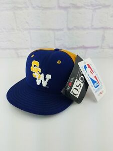 NWT Vintage 90's NBA Golden St. Warriors New Era 5950 Fitted Hat Size 7 RARE Vtg
