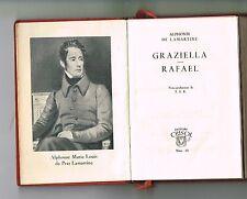 Alphonse De Lamartine Graziella Rafael Novelas Crisol Aguilar Minibook Leather