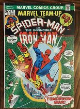 Marvel Team-Up #9      Spider-Man   Iron Man    Ross Andru    Gerry Conway