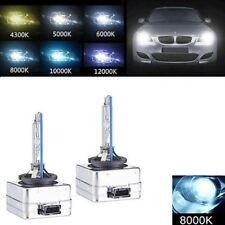 2 X HID D3S Xenon 8000K Light Bulbs Lamp D3R D3C AUDI BMW JAGUAR BENZ JEEP Volvo