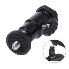 "Camera Accessory Tripod 1/ 4"" Male Screw Hot Shoe Adapter Ball Head With Lock"