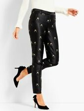 NWT Cheers Jacquard Tailored Ankle Pant with Champague print in Size 4