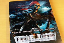 Pirates of the Caribbean 1 Curse of the Black Pearl Steelbook Blu-ray Fluch der