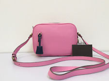 J.Crew Signet Bag In Italian Leather NWT Authentic Color: Fuchsia Bloom