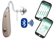 EarSpoke Hearing Amplifier - Wireless Programmable w/ Smart Phone App Assist Aid