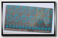 Hobby Design Photoetch - 1/24 Bonnet Pins