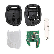 1 Button 433 MHz PCF7946 Chip Car Remote Keyless Entry Key Fob For Renault