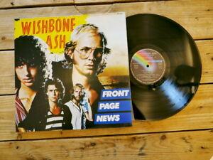 WISHBONE ASH FRONT PAGE NEWS LP 33T VINYLE EX COVER EX ORIGINAL 1977