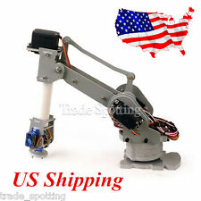 DIY 6-Axis Servo Control Palletizing Robot Arm Model for Arduino UNO MEGA2560 US