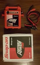 Snap On Portable Power Booster Jump Starter 1700 12v New Battery & Smart Charger