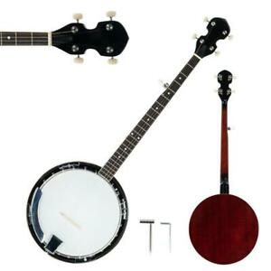 5 String Banjo w/ Closed Back 24 Brackets Head & Maple Neck