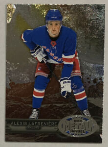 2020-21 Metal Universe Retro Alexis Lafreniere Rookie RC New York Rangers #R-50