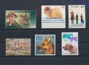 LO13745 World pets animals dogs fine lot MNH