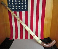 Vintage Sportcraft Wood Field Hockey Stick Paramount England Mulberry Display