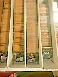 2008 UD UPPER DECK YANKEE STADIUM Legacy YSL Collection Card Pick (1) #1000-1249