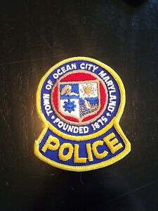 Ocean City, Maryland police patch