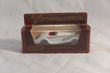 MATCHBOX MODELS OF YESTERYEAR SCALE 1:45 Y-20 1938 MERCEDES BENZ 540K IN WHITE