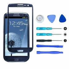 Samsung Galaxy S3 SIII Touch Screen Glass + Tools Lens Replacement Pebble Blue