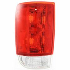 For Blazer 95-05, Driver Side Tail Light, Clear and Red Lens