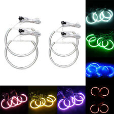 H3 4X Angel Eyes CCFL LED Standlicht Ringe Xenon Lampe fuer E46 Coupe Limousine