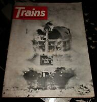 Trains Magazine January 1964 Issue