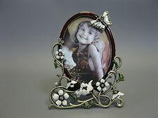 Luxus Bilderrahmen  aus Hartzinn  mit Strass 17 cm x 13 cm