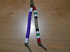IRAQ IRAQI CAMPAIGN MEDAL OIF PURPLE HEART BEADED KEY CHAIN  MILITARY PARACORD