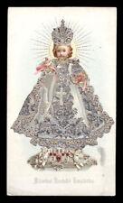 santino cromo-holy card GESU' BAMBINO DI PRAGA 4