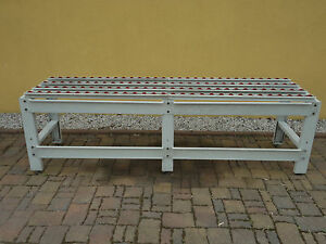 Röllchenbahn Rollenbahn Förderstrecke Transportband Länge auf Wunsch ab 2,5 m
