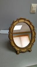 Syroco  Oval 1943 Table Mirror_..