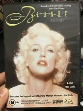 Blonde region 4 DVD (2001 Poppy Montgomery mini series about Marilyn Monroe)