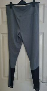 BNWOT Adidas Grey Climalite Running Gym Training Leggings high waist size 20-22