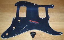 Fender Stratocaster Pickguard Black American Standard Strat HH Guitar Parts Pick