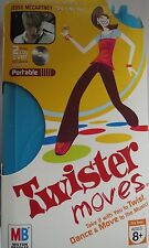 TWISTER MOVES BY MILTON BRADLEY BRAND NEW 2 CDS OVER 100 music Dance SESSIONS