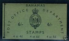 Bahamas 1981 SB 3 Booklet Complete