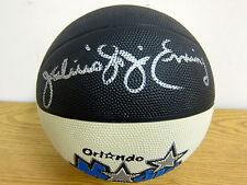 AUTOGRAPHED Julius Dr J Erving BASKETBALL NBA-ABA SUPERSTAR-NETS 76ERS