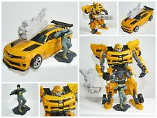 Transformers Deluxe BUMBLEBEE  (Mechtech Blaster & Human Alliance Soldier)