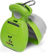 DogBuddy Pooper Scooper, Portable Dog Poop Scooper, Sanitary Dog Waste Pick Up,
