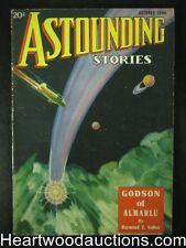 """""""Astounding"""" October 1936 Wandrei, Leinster, Binder - High Grade"""