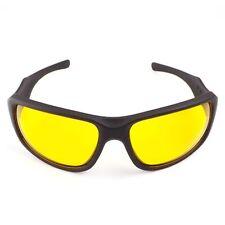 Night Driving Glasses Anti Glare Safety Plastic Sunglasses Yellow Lens Goggles