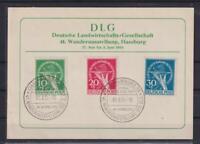 Berlin 68-70 Währungsgeschädigte gestempelt komplett auf Karte (et96)