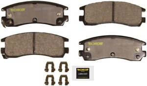 Disc Brake Pad Set-Total Solution Ceramic Brake Pads Rear Monroe CX508