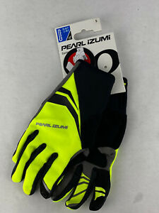 Pearl Izumi Elite Cyclone Gel Cycling Men's Gloves 14141605 Yellow Small New