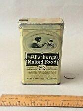 RARE ANTIQUE TIN ** ALLENBURYS' MALTED FOOD No. 3 ** FOR INFANTS