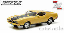 Greenlight Gone in 60 Sixty Seconds 1973 Ford Mustang Eleanor 1:43 Yellow 86412