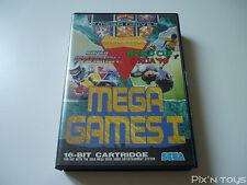 SEGA MEGA DRIVE / Mega games ( Super hang-on - W.cup italia'90 - Columns )