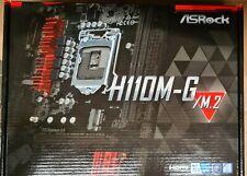 More details for asrock h110m-g/m.2 motherboard intel® h110 lga 1151 (socket h4) micro atx