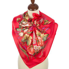 un authentique foulard russe 89*89 cm soie